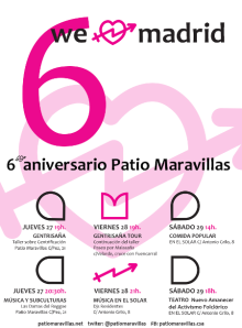 6 aniversario patio